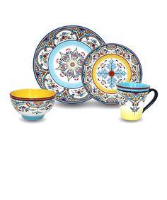 Zanzibar 16-Piece Dishware Set