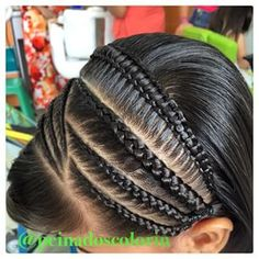 Hair Styles For Kids Curly 46 Ideas Girls Hairdos, Little Girl Hairstyles, Pretty Braided Hairstyles, Cool Hairstyles, Hairstyle Ideas, Long Hair Designs, Curly Hair Styles, Natural Hair Styles, Hair Due
