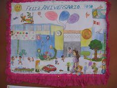 aniversario de colegios dibujos - Buscar con Google