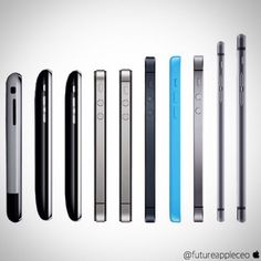 The evolution of the Apple IPhone shows hot fast technology can change over a short period of time. Devices built out of a dream. Cool Technology, Technology Gadgets, Tech Gadgets, Technology Apple, Computer Technology, Coque Iphone, Iphone 6, Iphone Cases, Apple Iphone