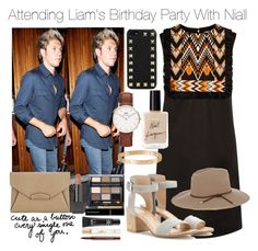 """Attending Liam's Birthday Party With Niall (Requested)"" by one-direction-outfitsxxx ❤ liked on Polyvore featuring DKNY, Bobbi Brown Cosmetics, Smashbox, Valentino, Yves Saint Laurent, MAC Cosmetics, Cartier, Emilio Pucci, Givenchy and Gianvito Rossi"
