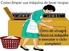 Super Dicas: Como limpar sua máquina de lavar roupas
