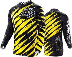 2016 Troy Lee Designs Vert Yellow Black TLD MX GP Motocross Jersey