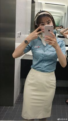 Buzz feature eye candy cute korean stewardesses you 39 d for Korean air cabin crew requirements