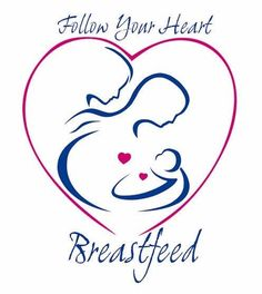 Follow Your Heart Breastfeed Mother Tattoo Sample