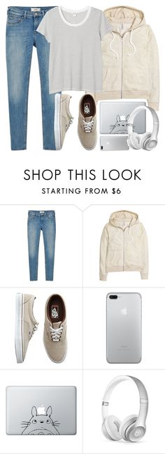 """Comfy days"" by alexandra-provenzano ❤ liked on Polyvore featuring MANGO, Vans, Humör, Beats by Dr. Dre and Monki"