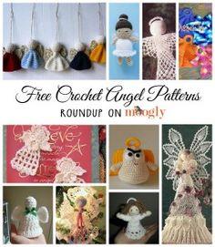 10 Free #Crochet Angel Patterns