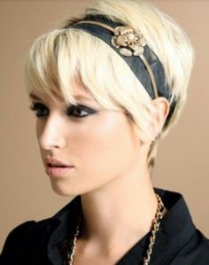 I think I could pull off the blonde.