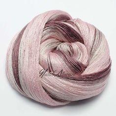 148 gr Gradient Mulberry Silk Yarn