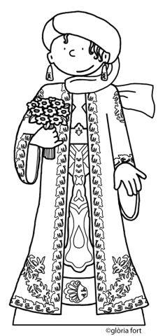 Geganta de Vilanova, Festa Major_Vilanova i la Geltrú | glòria fort _ illustration
