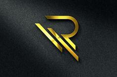 Letter R Logo Template - Logos - 1 - Graphic Templates Search Engine Logo Esport, Logo Branding, Branding Design, Brand Identity, Carta Logo, Web Design, Freelance Graphic Design, Photography Logos, Back To Nature