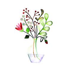 Lovely flowers  Mijksje | flowers | aquarel | watercolor | waterverf | plant | ontwerp | illustratie | illustration