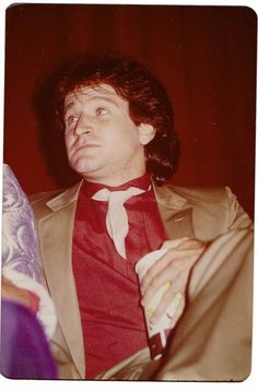 Robin Williams rare snapshot