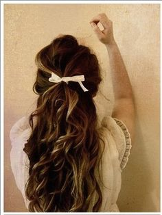 Little girl hair for grown up ladies. So pretty. #hair #beauty #style