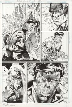 Justice League (issue 5 page 12) Comic Art
