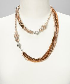 Take a look at this Sand Maggies Mix-n-Match Magnetics Necklace & Bracelet Set by Alexa's Angels on #zulily today!