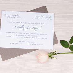 Invitaciones de boda elegantes y creativas. Petipress.com