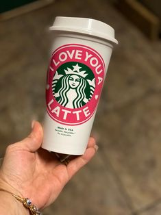 Personalized Starbucks Cup BPA FREE reusable tumbler / coffee / wedding / gift / birthday / party / travel / bridesmaid / your own text by MadeInHisImageShop on Etsy Starbucks Tumbler Cup, Custom Starbucks Cup, Starbucks Birthday, Reusable Cup, Appreciation Gifts, Tumbler Cups, Birthday Gifts, Birthday Ideas, Gift For Lover