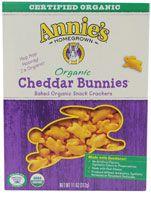 Annie's Homegrown Cheddar Bunnies® Organic #BacktoSchool