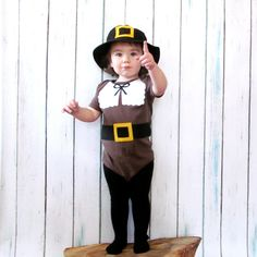 Items similar to Thanksgiving Pilgrim Baby Clothes on Etsy Thanksgiving Prayer, Thanksgiving Projects, Thanksgiving Outfit, Pilgrim Costume, Herschel Heritage Backpack, Heavenly Father, Baby Disney, Toddler Outfits, Thoughtful Gifts