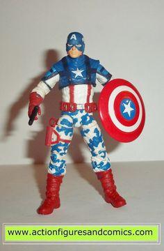 hasbro toysMARVEL UNIVERSE Captain America movie action figures target exclusive, CAPTAIN AMERICA concept series 100% COMPLETE Condition: Excellent Figure siz