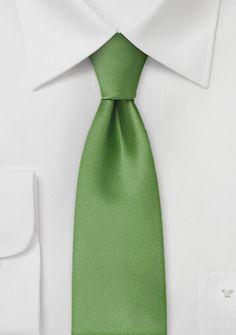 Skinny Tie in Clover Green | Bows-N-Ties.com