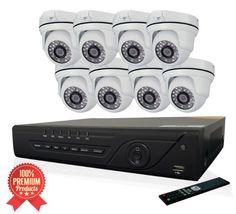 Security Camera Kit 8ch dvr.  #securitycamerasystem #dvrsystem http://www.thirdeyevision.com/