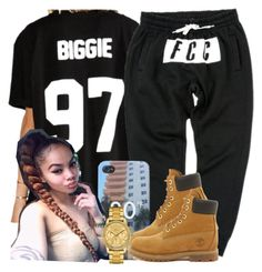 """."" by trillest-queen ❤ liked on Polyvore featuring Timberland and Lacoste"