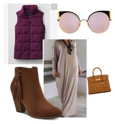 """""""The Dia Ladies (Susan)"""" by latashanandrews on Polyvore featuring Hermès and Fendi"""