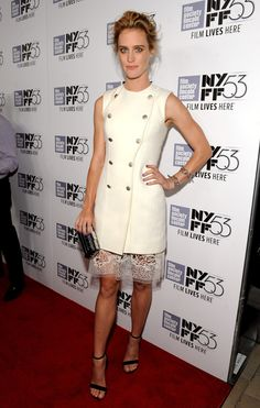 Mackenzie Davis stunned in white after Labor Day. See all the best dressed stars on wmag.com.