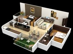 45 ideas home bar desing layout house plans for 2019 2bhk House Plan, House Layout Plans, Small House Plans, House Layouts, Dream House Plans, House Floor Plans, Duplex House Plans, Bedroom House Plans, Home Plans