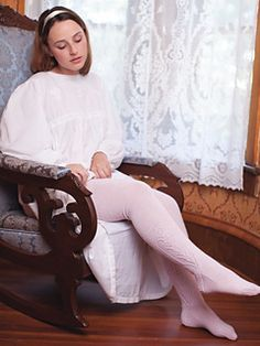 The Fine Stockings Pattern designed by Lisa Jacobs, was originally published in Jane Austen Knits Colored Tights Outfit, Black Tights, Jane Austen, Women Legs, Fit Women, Wool Tights, Indian Wedding Fashion, Knit Stockings, Pantyhose Outfits