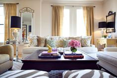 Just simple and effortlessly beautiful.  I like the colors of these throw pillows.