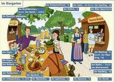 German For Beginners: The bier garden