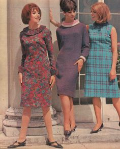 Autumn Dress Advice for September 1964 - the year of The Beatles