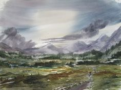 'Into the Wild' watercolour painting demonstration - YouTube