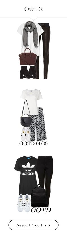 """""""OOTDs"""" by elenaday ❤ liked on Polyvore featuring rag & bone, Toast, Gianvito Rossi, Acne Studios, Givenchy, Visvim, adidas Originals, Mulberry, Kenneth Cole and Topshop"""