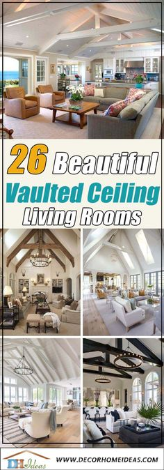 Best Vaulted Ceiling Living Rooms Ideas and Design&; Best Vaulted Ceiling Living Rooms Ideas and Design&; Ellen Living Room Best Vaulted Ceiling Living Rooms Ideas and Designs […] living room vaulted ceiling Vaulted Ceiling Decor, Grey Ceiling, Ceiling Beams, Ceiling Design, Vaulted Ceilings, Skylight Design, Shiplap Ceiling, Home Design, Design Ideas