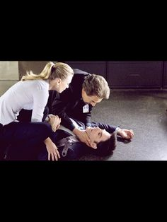 Criminal Minds. I knew Aaron was going down but, right in front of his team. That was rough.