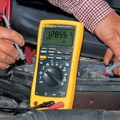 Use of a digital multimeter - Miriam Andrews Photo Page Electronics Components, Calculator, Digital, Survival, Diy, Internet, Construction, Power Lineman, Angel