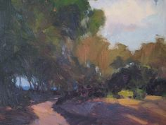 "Trail to the Sea, La Jolla by Catherine Grawin Oil ~ 16"" x 20"""