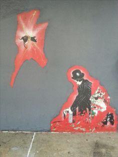 NYC Street art Street Art, Nyc, Painting, Painting Art, Paintings, Painted Canvas, New York, Drawings