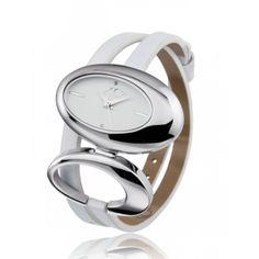 Ladies stainless steel Arcane white watches - Xc38