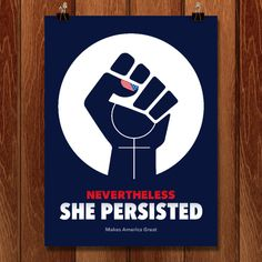 Nevertheless, she persisted! by Maria Ioveva