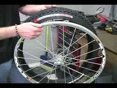 How to Change a Mountain Bike Tire - YouTube
