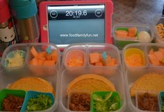 Food, Family, Fun.: Fast lunches - 3 lunches in 20 minutes!