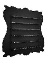 Deco black nail polish rack