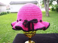 Ladies free sun hat crochet pattern
