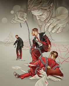The Bankruptcy Guru: D CEO Magazine : Martin Ansin, Illustrator   Illustration Portfolio