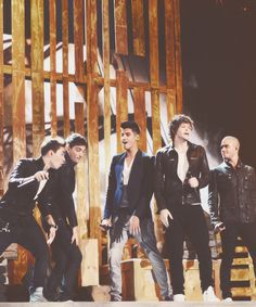 the wanted during their performance at the Billboard Awards